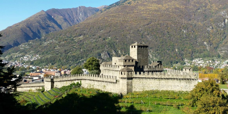 Bellinzona – Castelgrande, Montebello, Sasso Corbaro
