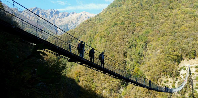 Il ponte sospeso più lungo della Svizzera