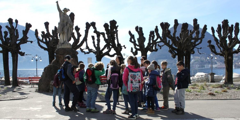 Para las escuelas: descubrir el Cantón Ticino